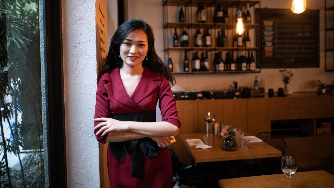 Gerente de un restaurante de éxito