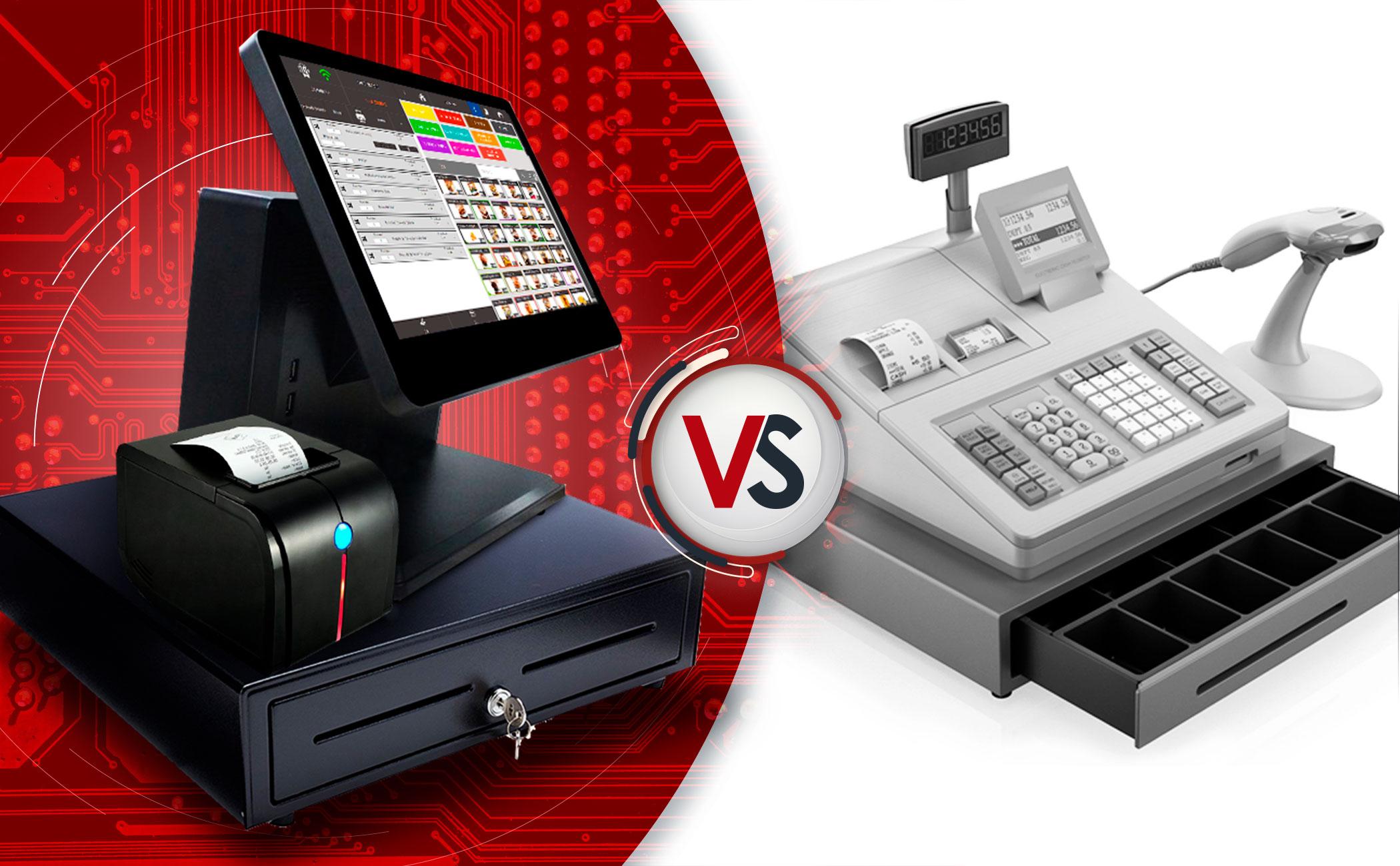 Comparativa entre caja registradora y Software TPV
