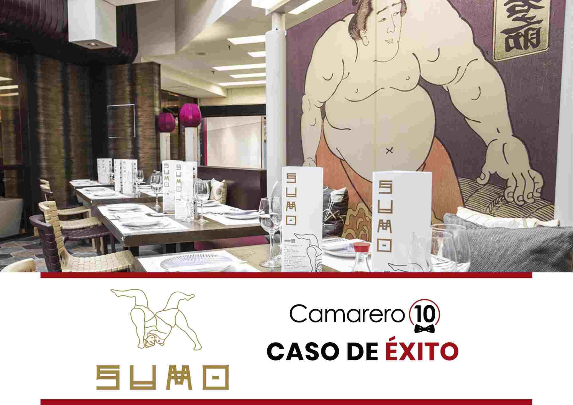 Restaurante asiático SUMO en Madrid