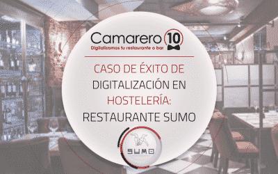 Caso de éxito de digitalización en hostelería: Restaurante Sumo