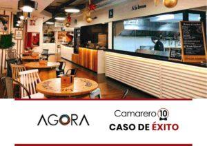 Mercado gastronómico en Madrid