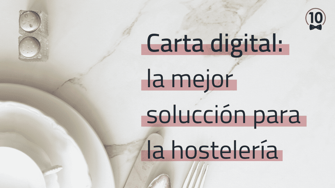Carta digital para bares y restaurantes