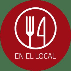 Icono de funcionalidades de la carta digital restaurante para el restaurante. Apertura por QR, Autocomanda digital, pago por móvil.