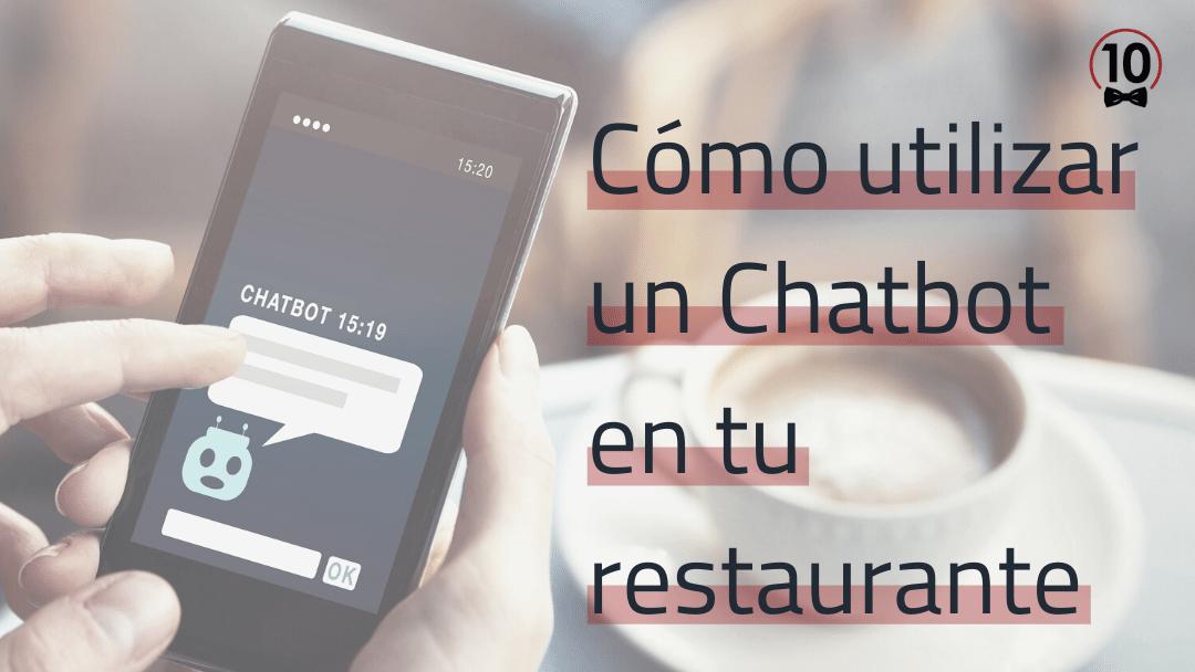 Servicio de chatbot para bares y restaurantes