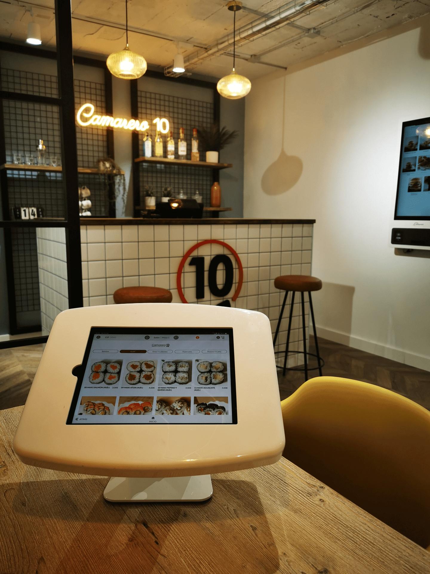 app de pedido en mesa camarero10