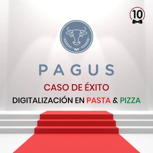 caso de éxito de camarero10 en el restaurante PAGUS en León