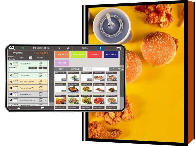 software para fast-food