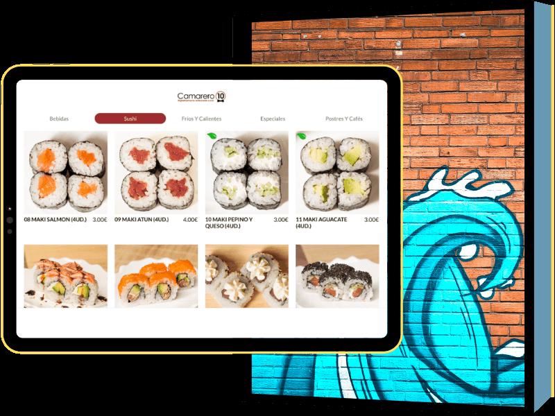 App pedido en mesa para restaurantes que quieran agilizar su toma de comandas y enviarlas directamente a cocina.