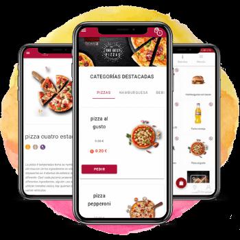 Carta digital con pedidos en mesa para restaurantes