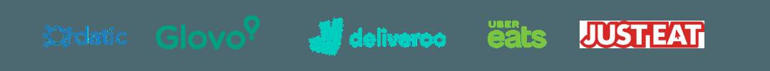 Integración con plataformas de delivery. integración con Glovo, Just Eat, Uber Eats. Integración con Ordatic.