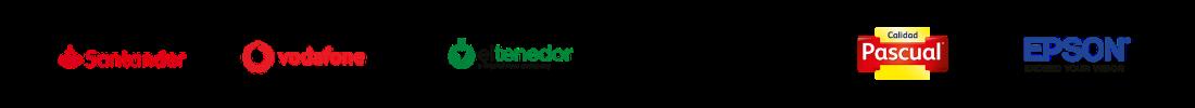 Partners de camarero10. Vodafone, Samsung, Calidad Pascual, El Tenedor, EPSON