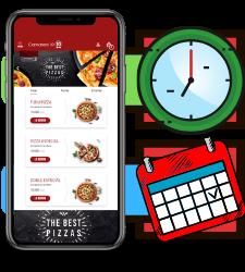 Selecciona el horario en el que deseas recibir el pedido