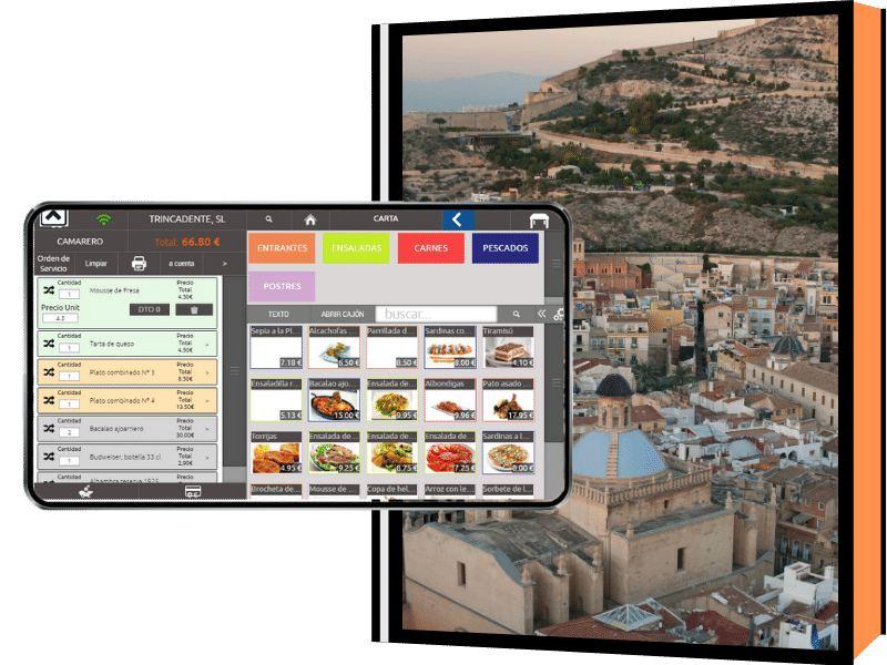 Imagen panorámica de la ciudad de Alicante