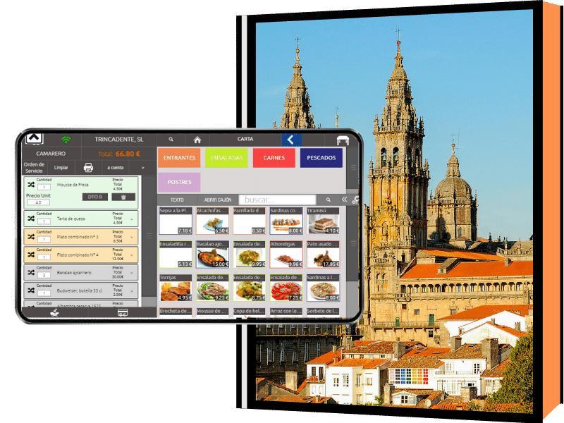 Imagen catedral de Santiago de Compostela