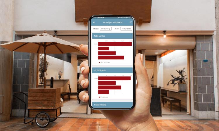 todo el análisis sobre las ventas de tu restaurante en tu móvil