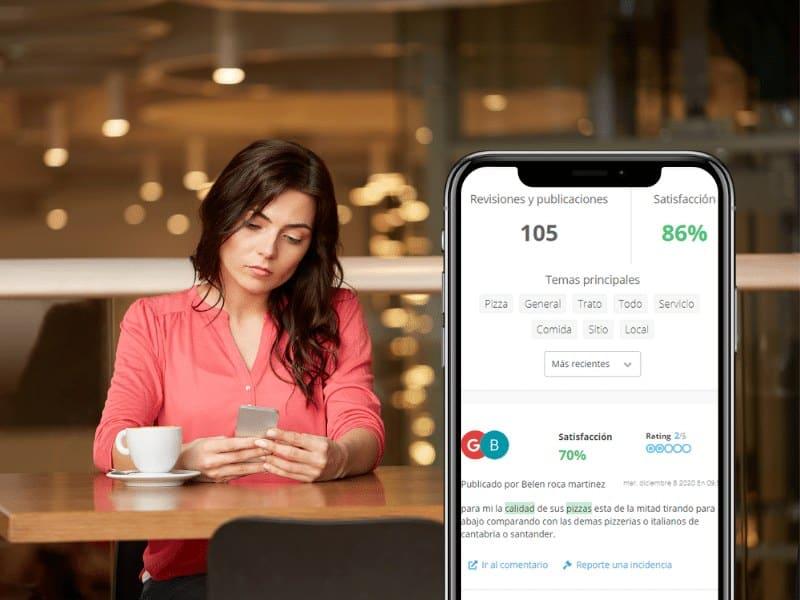 Herramienta reviews para controlar la reputación online de tu negocio