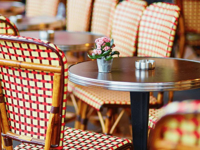 Imagen de la terraza de un restaurante en valladolid