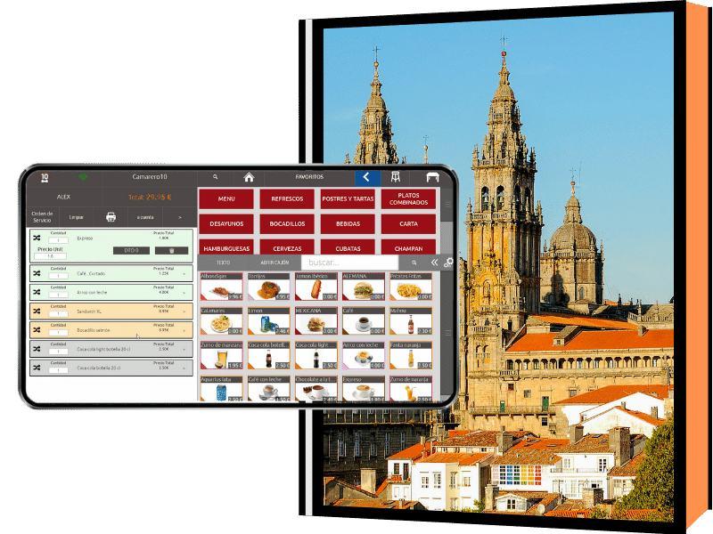 Imagen de la catedral de Santiago
