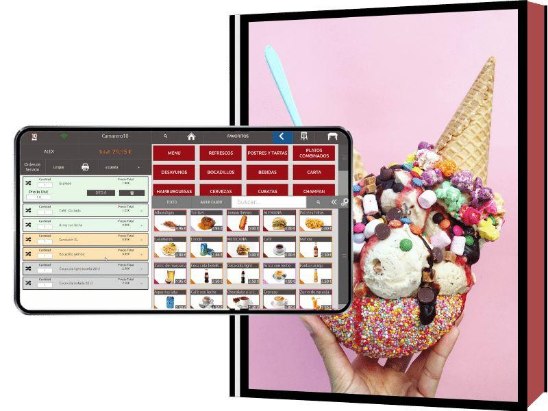 Imagen de un helado
