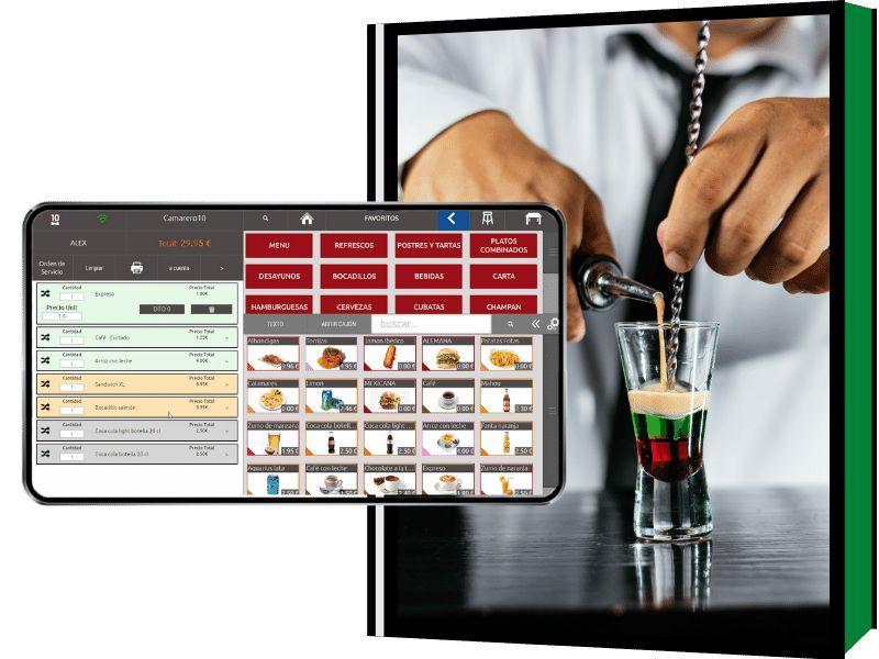 El mejor software tpv para bar de copas