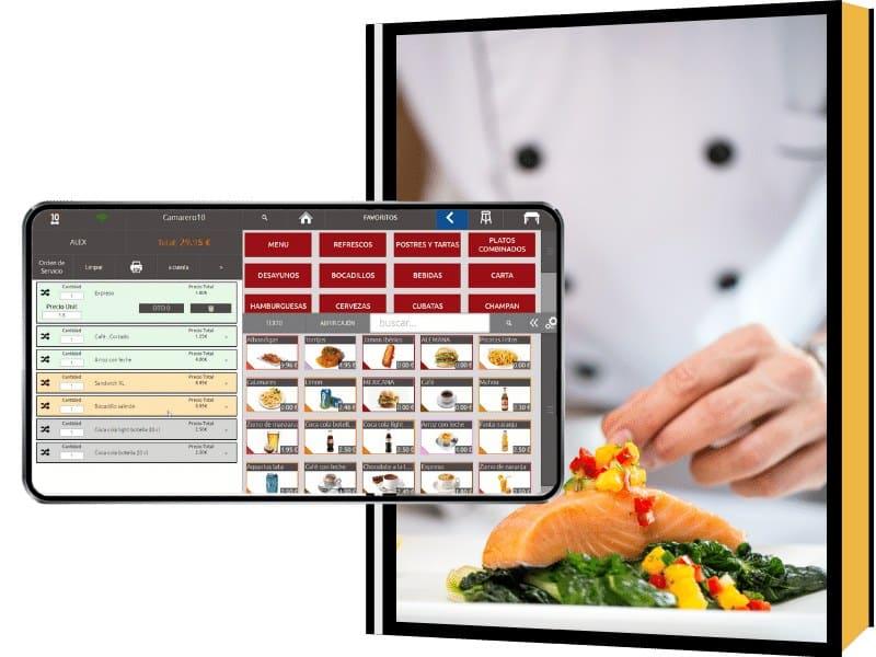 Software tpv para dark kitchen