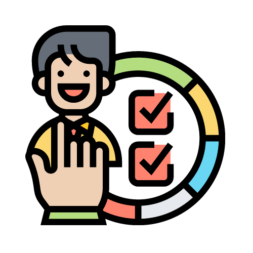 imagen cliente con checks positivos