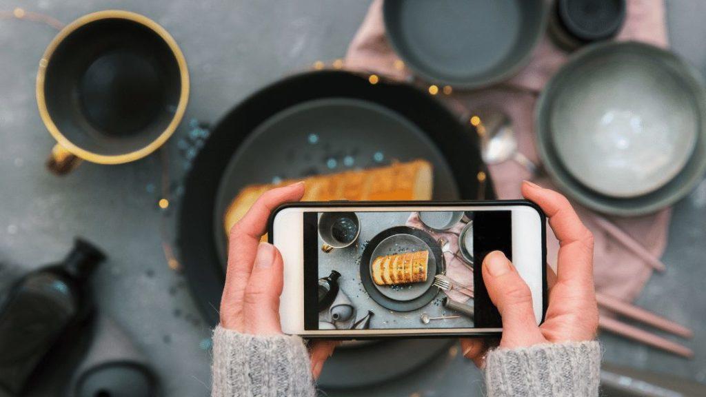 fotos para promocionar un restaurante en instagram