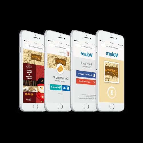 imagen cuatro mobiles con paginas web en las pantallas