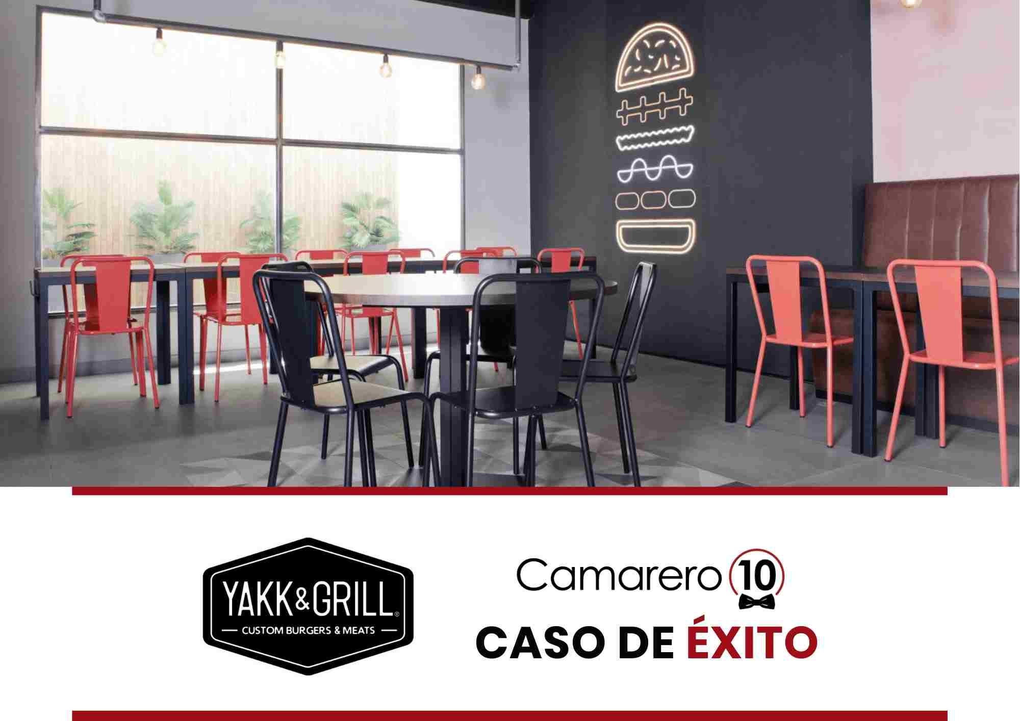 Restaurante digital Yakk & Grill en Murcia