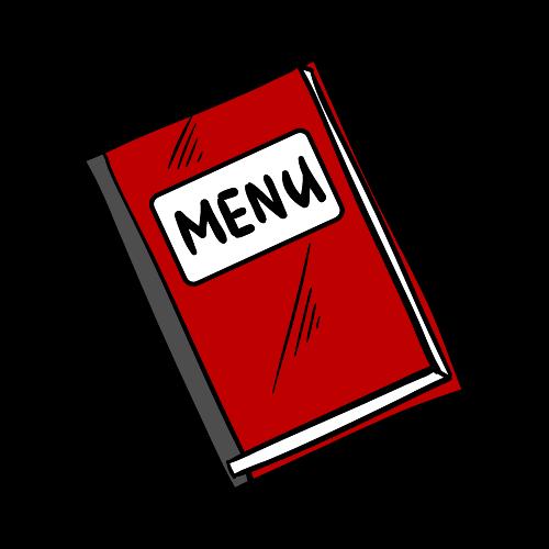 imagen menu de restaurante