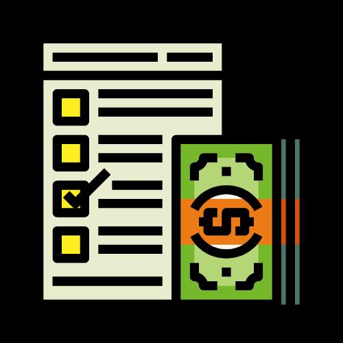 imagen papel con dinero
