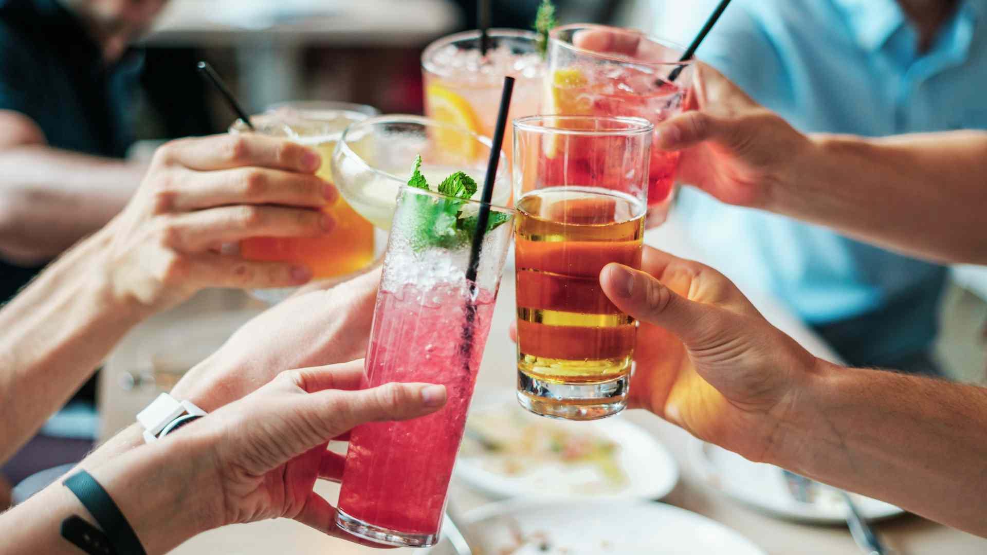 Food service para bebidas y combinados