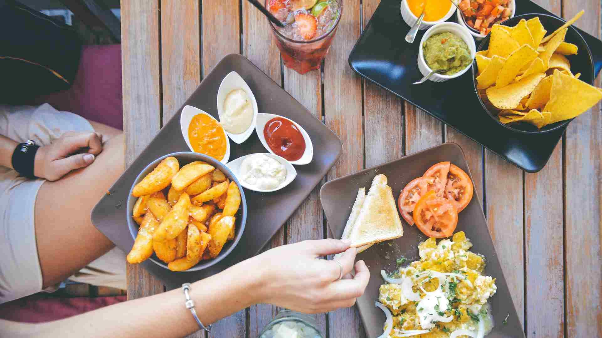 Comida food service para bares y restaurantes