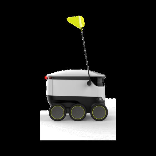 imagen robot sirviendo
