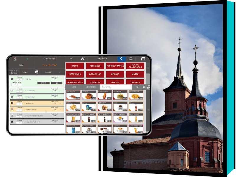 El mejor software tpv en Alcalá de Henares para restaurantes