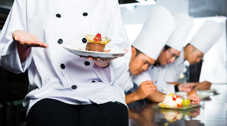Monitores de cocina para restaurantes