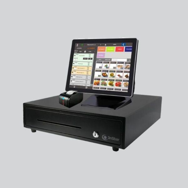 pack TPV Táctil HK850 J1800 4G 15.6 Negro