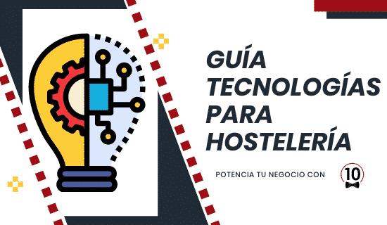 Guía de tecnologías para bares y restaurantes