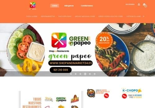 pagina de pedidos online para restaurantes de shop and market cliente de camarero10 tpv