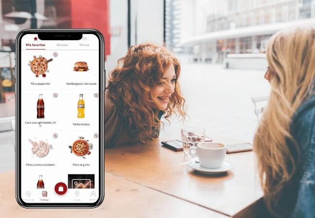 App de clientes con escaneo qr