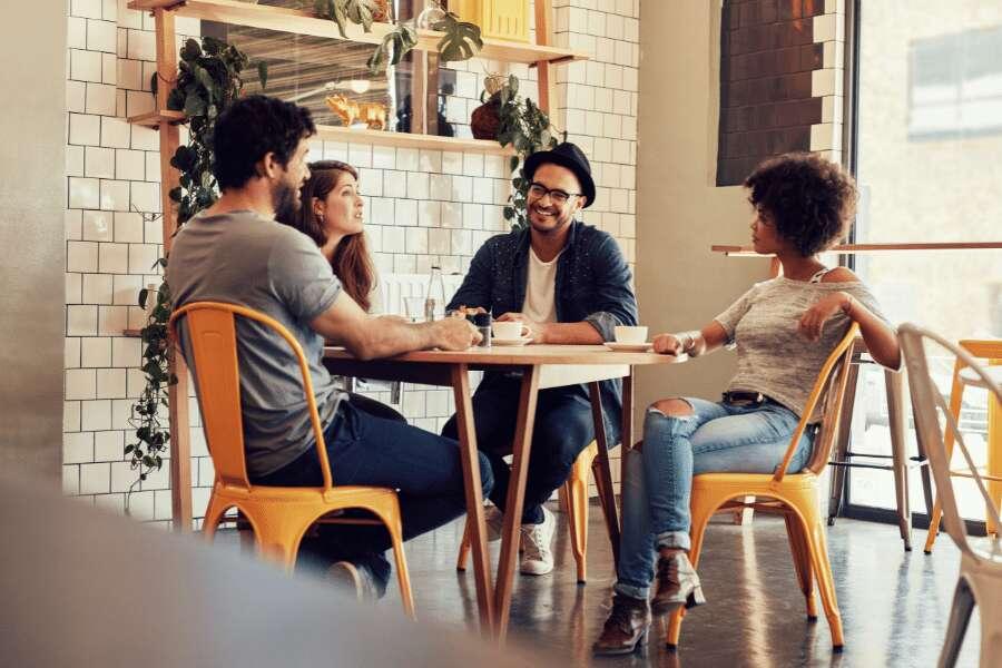Cafetería moderna y original para diferenciarse de la competencia